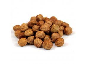 Jádra lískových ořechů nesolená nepražená