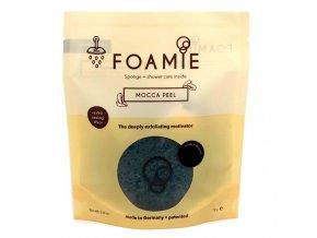 Foamie Mocca Peel - houbička s čistící krémovou pěnou