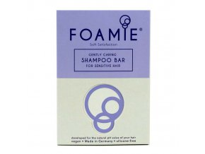 Foamie Shampoo Bar Soft Satisfaction - tuhý šampon pro citlivé vlasy a pokožku hlavy