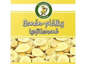 Banán plátky lyofilizované