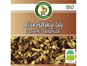 Ajurvédský čaj s chutí lékořice - Zelenáčky