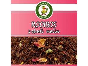 Sypaný čaj rooibos maliny - Zelenáčky