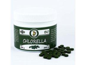 Sladkovodní řasa chlorella BIO v lisovaných tabletách - Zelenáčky
