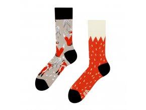 Veselé ponožky Liška