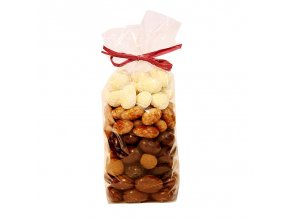 Mandle v čokoládě, karobu a kokosu | Zelenáčky