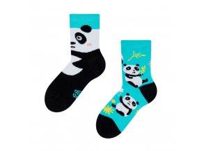 Dětské veselé ponožky Panda
