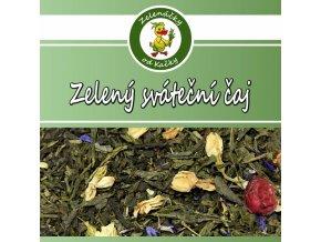 Zelený sváteční čaj Sencha - Zelenáčky