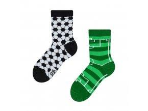Dětské veselé ponožky Fotbal