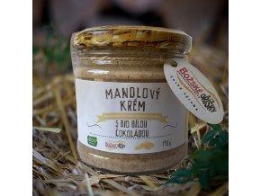 Mandlový krém s bio bílou čokoládou 190 g | Zelenáčky