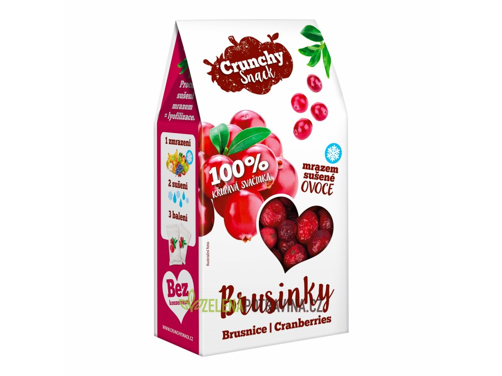 Crunchy snack Brusinka flat