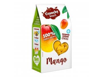 Crunchy snack, Mrazem sušené mango, 20g