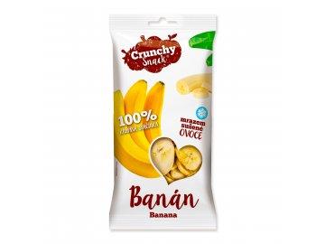 Crunchy snack, Mrazem sušený banán, 15g