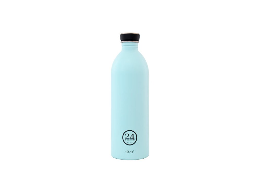 Láhev na pití 24Bottles Pastel Cloud Blue 1,0 l