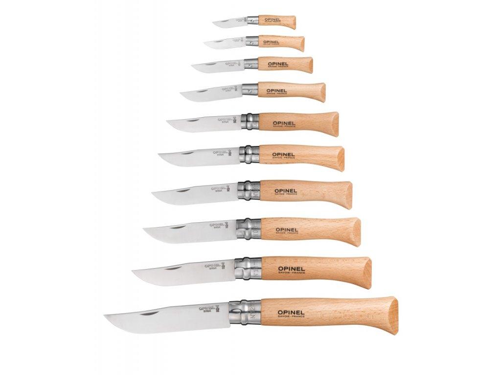 Kapesní zavírací nůž OPINEL CARBON