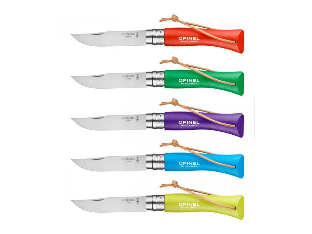 Kapesní zavírací nůž OPINEL ColoRama N°07