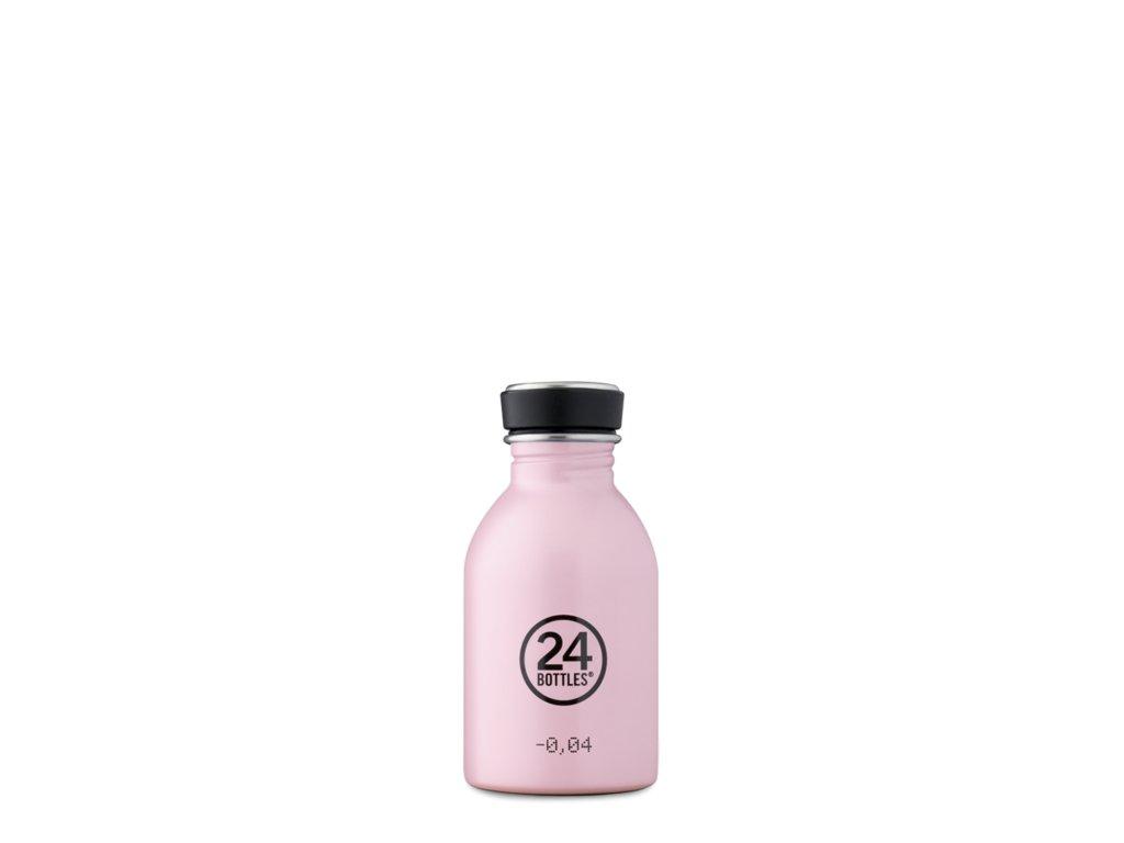 Láhev na pití 24Bottles PASTEL CANDY PINK 0,25l