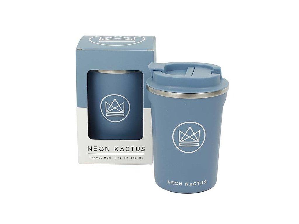 Termohrnek / Travel Mug NEON KACTUS 380 ml