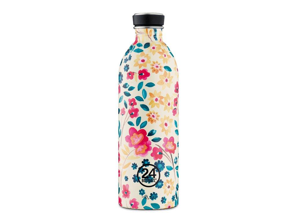 Láhev na pití 24Bottles PETIT JARDIN 1,0l