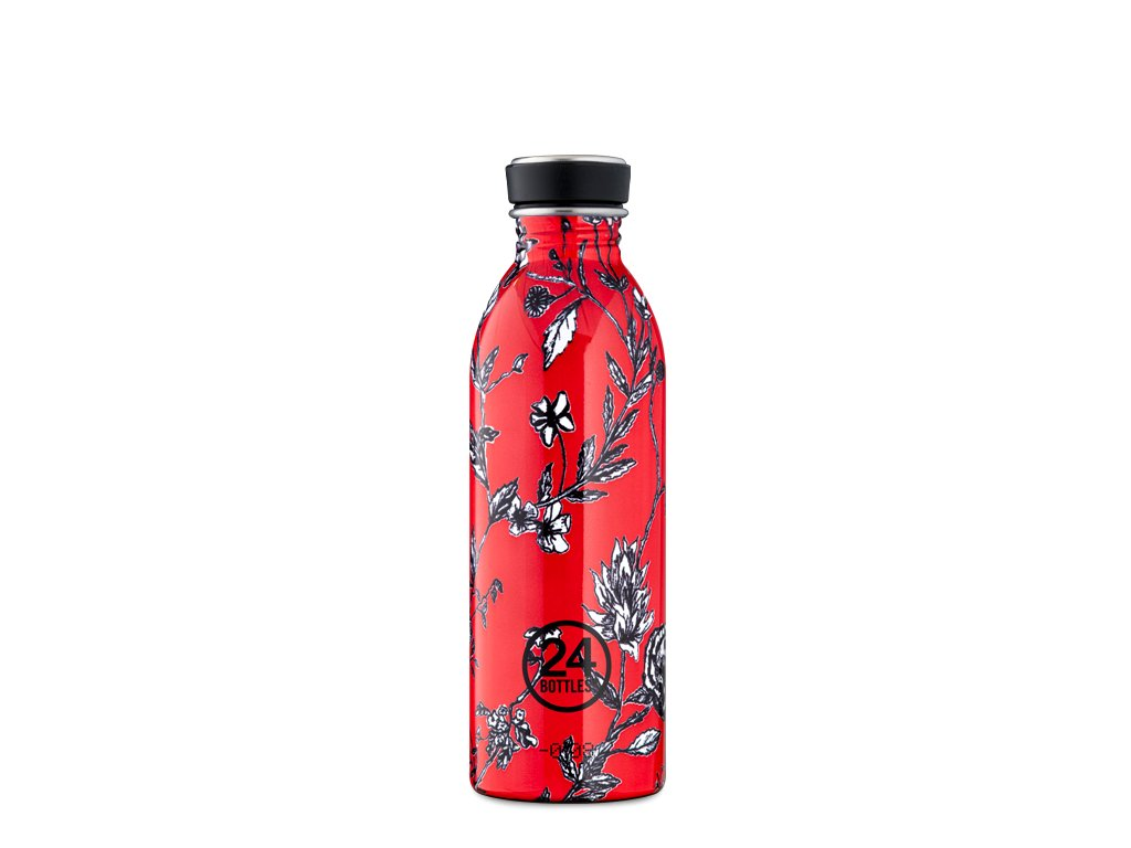 Láhev na pití 24Bottles CHERRY LACE 500 ml