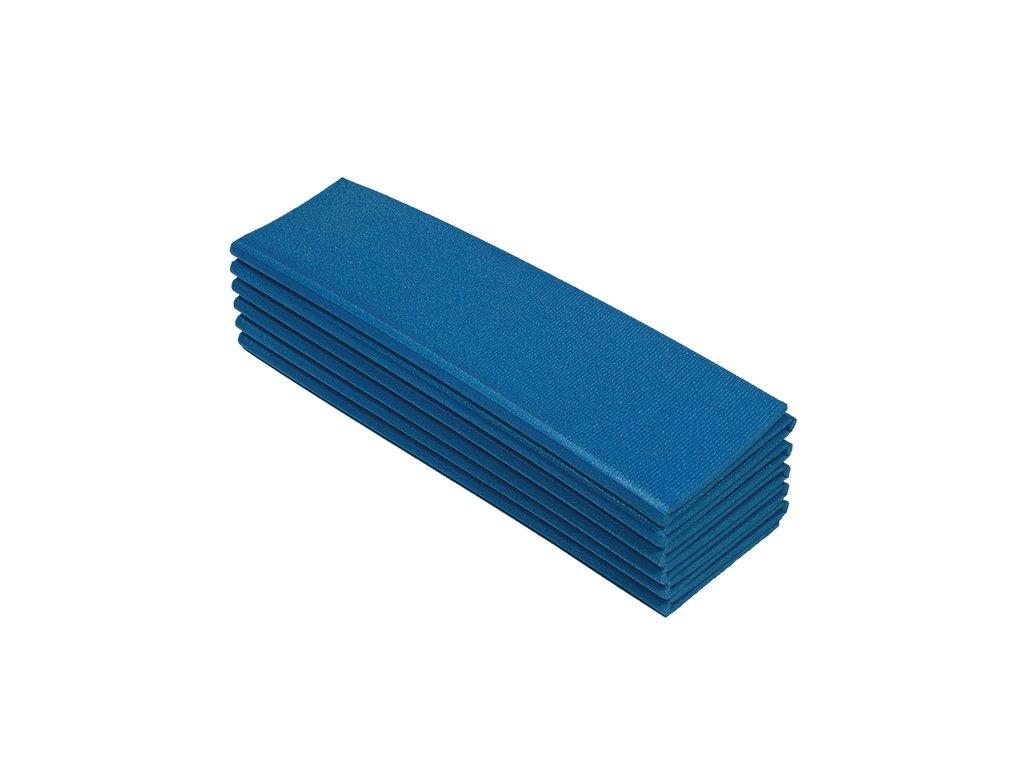 Karimatka jednovrstvá 8 mm skládací 12D modrá