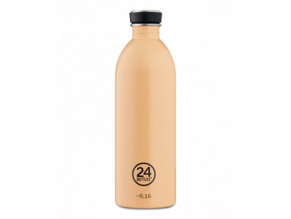 Láhev na pití 24Bottles PASTEL 0,5l Peach Orange