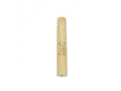 CURANATURA bambusové pouzdro na dětský zubní kartáček