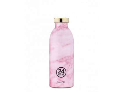 Termoska 24Bottles PINK MARBLE GRAND COLLECTION