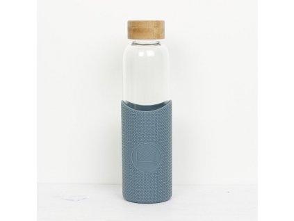 Skleněná láhev na pití NEON KACTUS 550 ml