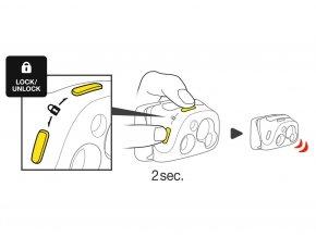Čelovka PETZL REACTIK (Barvy modrá)