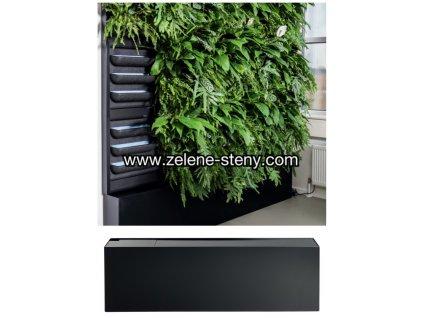 Zelená stěna LivePanel s retenční nádrží