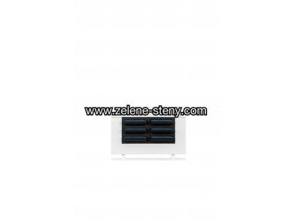 Zelená stěna dělící LiveDivider 112x180x28, bílý rám