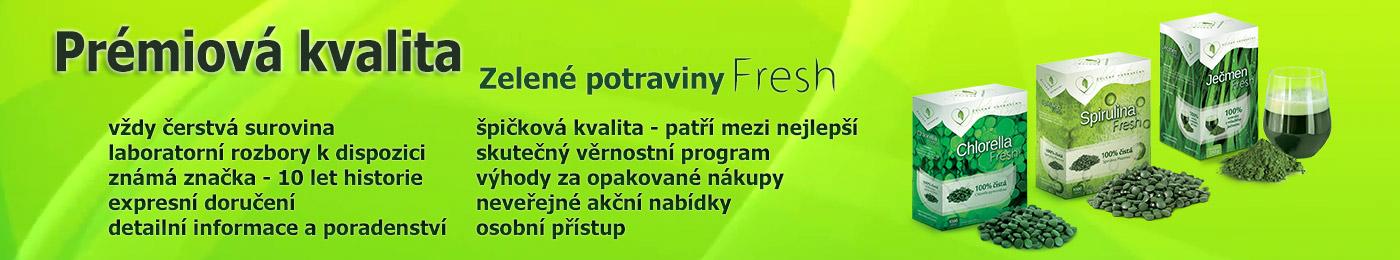 Prémiová řada Fresh