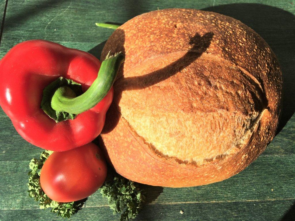 světlý chléb