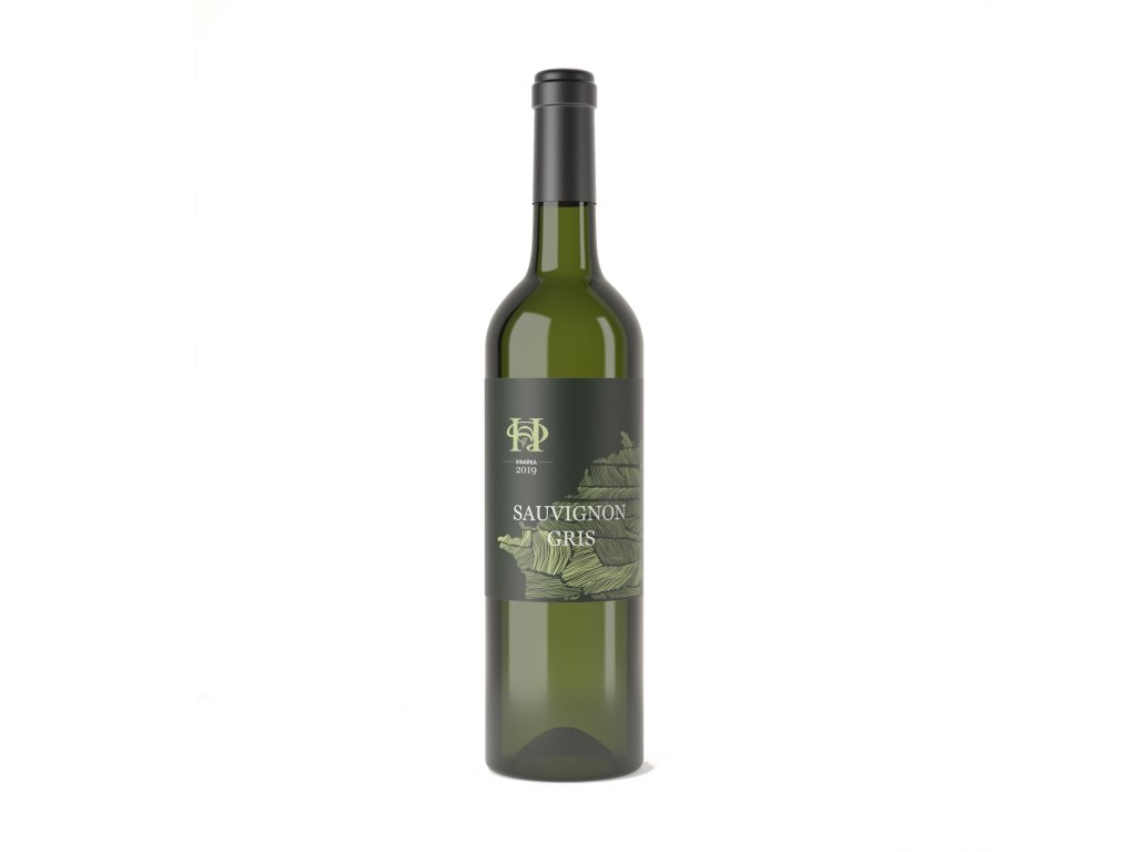 vino hruska Sauvignon gris 2019