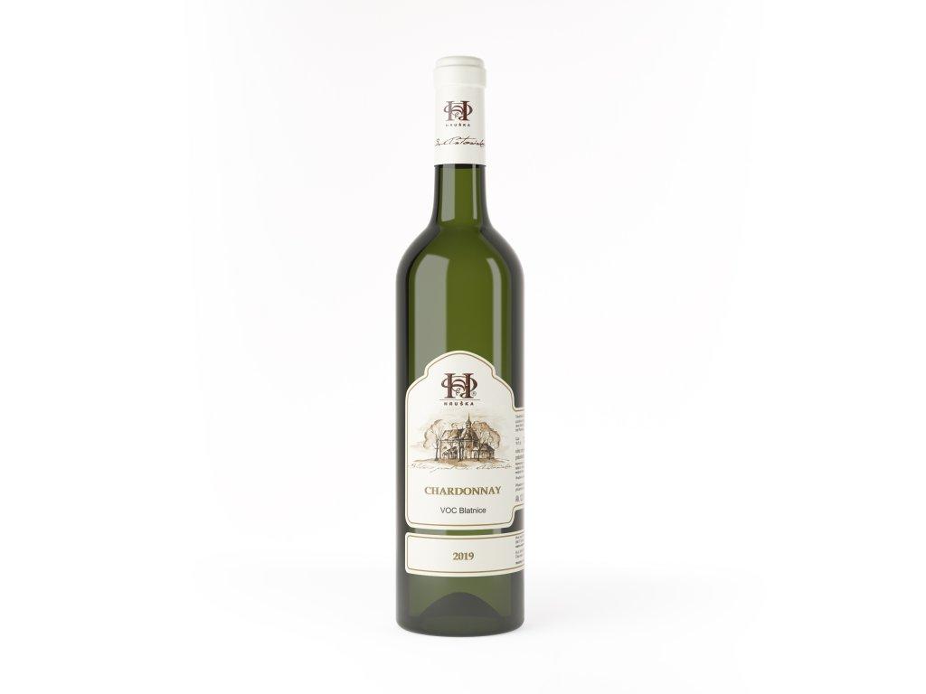 Chardonnay Hruska vino