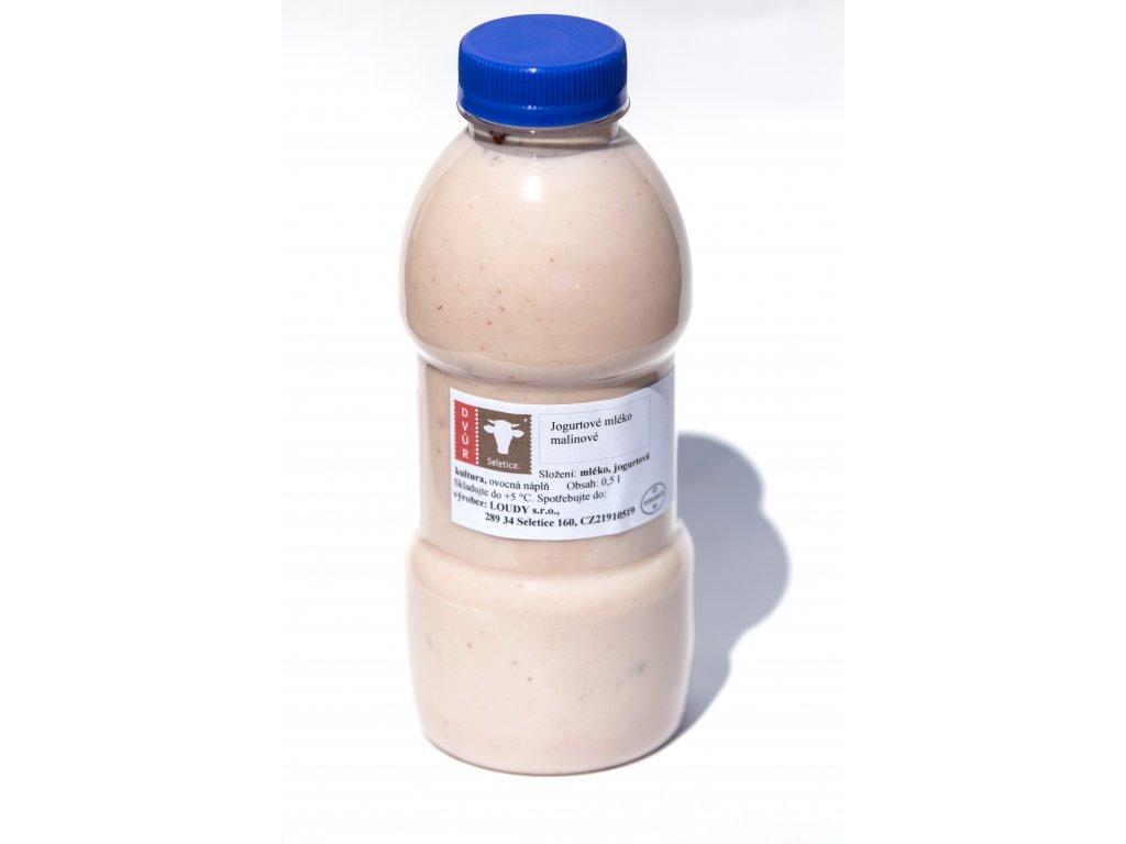 Jogurtové mléko malinové