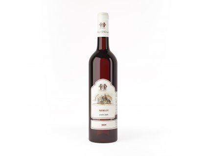 Merlot vino Hruska
