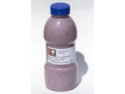 Jogurtové mléko borůvkové