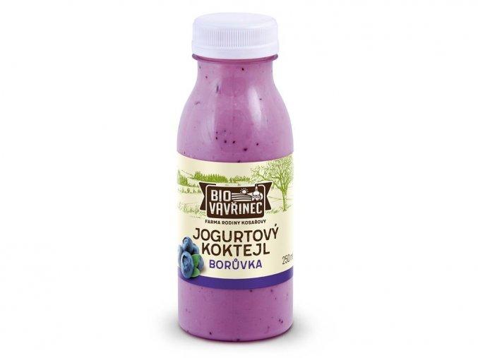 jogurtovy koktejl boruvka 250 ml