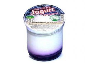 farmarsky jogurt s boruvkami 150g