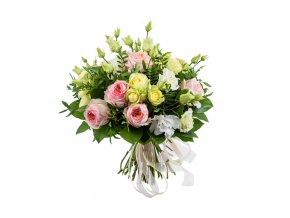 Kytice růží a eustom