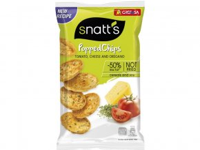 Popped chips tomato, sýr, oregáno 75g