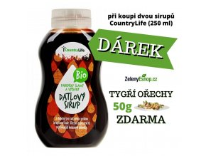 COUNTRY LIFE Sirup datlový BIO 250ml