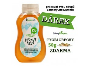 COUNTRY LIFE Sirup rýžový BIO 250ml