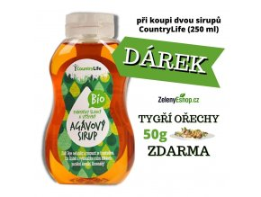 COUNTRY LIFE Sirup agávový BIO 250ml