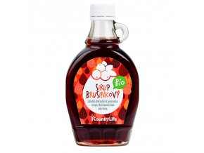 COUNTRY LIFE  Sirup brusinkový BIO 250 ml
