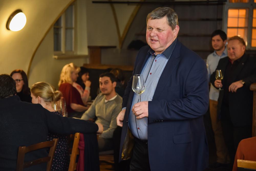 Degustace vín s Jožkou Valihrachem