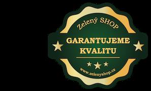 Zelený SHOP garantuje kvalitu produktů
