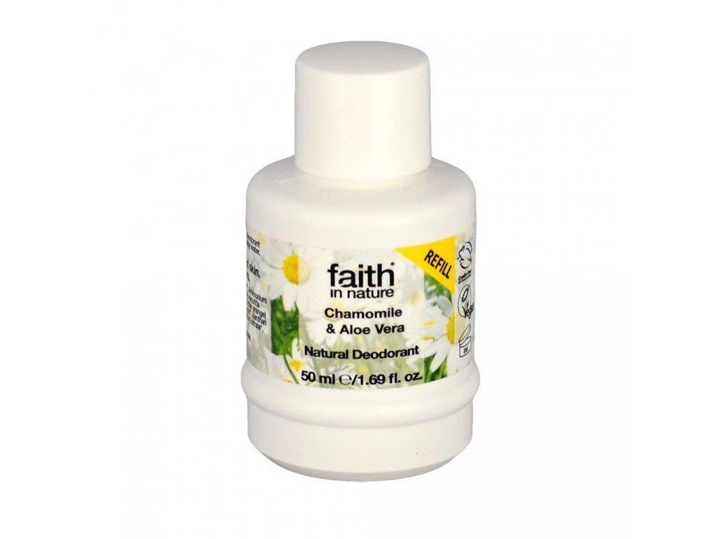 Náplň do deodorantu - Heřmánek & Aloe vera