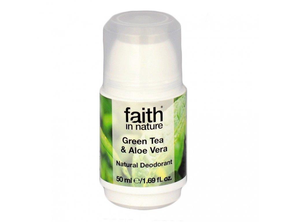 Deodorant  se zeleným čajem a aloe vera